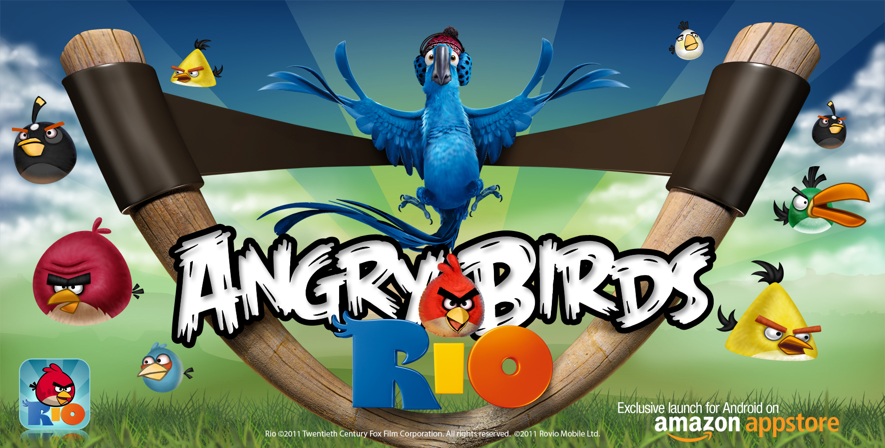 (Angry Birds RIO exklusiv bei Amazon; Quelle: s.u.)